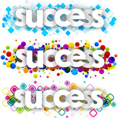 success color banners