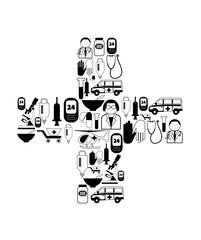 medical black icons