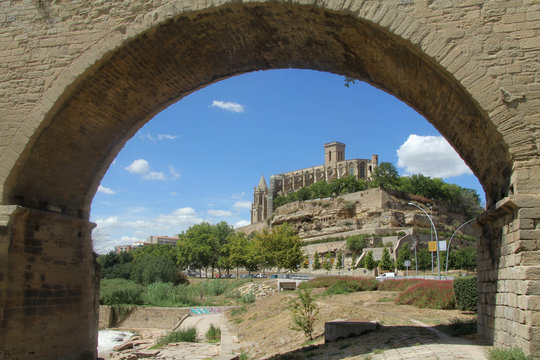 La Seu Cathedral, Manresa, Barcelona province, Catalonia,Spain