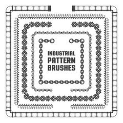 Industrial pattern brushes