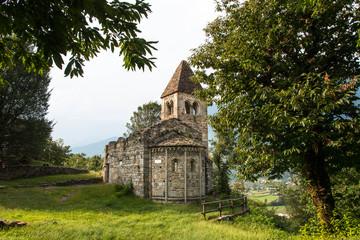Abbazia di San Pietro in Vallate (1078), Valtellina, Italy