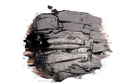 Black tar blot