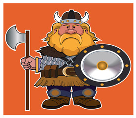 Viking / A viking is ready for battle