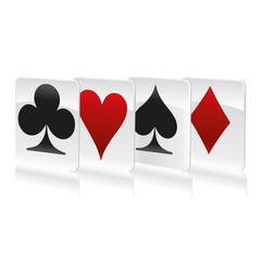 Cards symbols