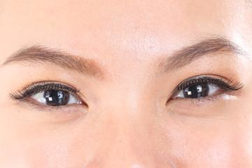 Asian woman beautiful eye