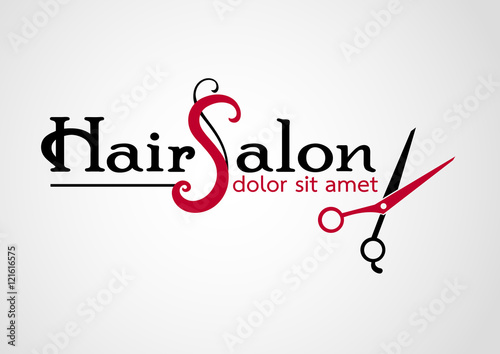 hair salon logos vectors stock image and royalty free vector files rh fotolia com The Best Hair Salon Logos Vintage Salon Logos