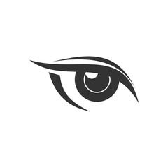 Eye logo design for vision company