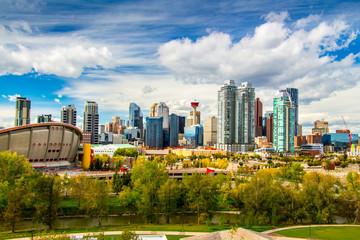 East of Calgary Skyline