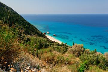 Lefdaca Grecia Baia Kathisa
