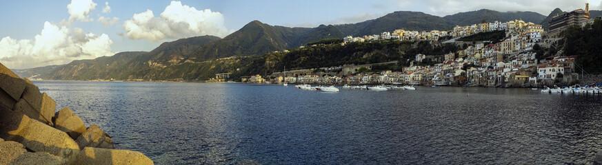Foto panoramica di Chianalea di Scilla