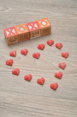 Valentine's Day. XOXO