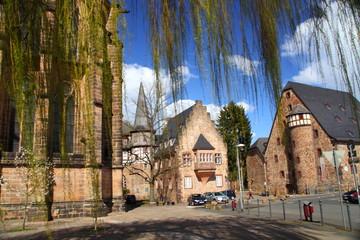 Marburg, Hessen, Komturhaus,mineralogisches Museum,
