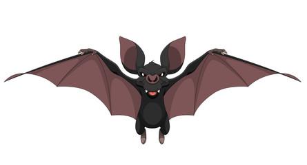 Funny bat smiling.