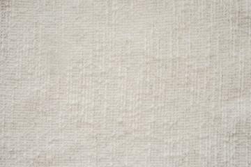 светлая хлопковая ткань текстура. белая бежевая натуральная ткань