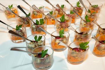 mozzarella carrot salat appetizers