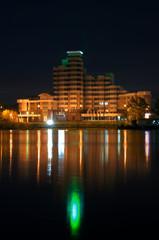 night city view