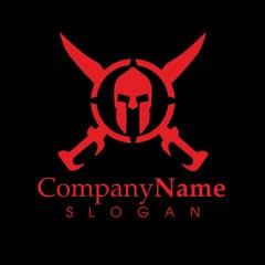 Company Name - modern logo (spartan)