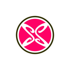 Butterfly SS Logo Icon