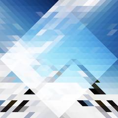 Abstract Triangle bg43