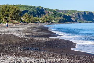 Baie de Saint-Paul à l'île de la Réunion