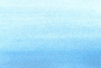 Hand painted watercolor background. Hand painted marine texture. Watercolour wash blue.