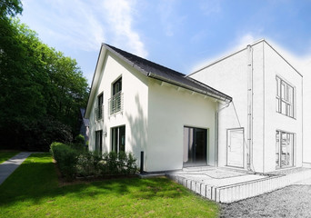 Haus in Planung