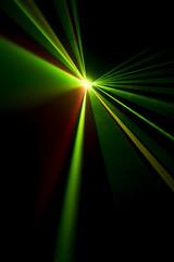 laser beam not a black background