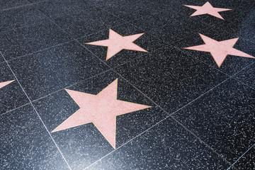 Blank Walk of Fame Stars