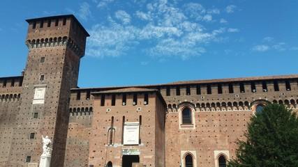 Milano, Castello Sforzesco ingresso