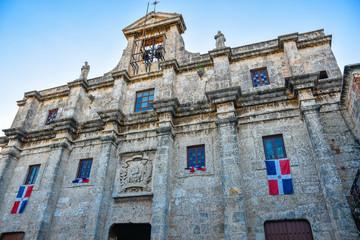 Santo Domingo, Dominican Republic. National Pantheon in Las Damas street.
