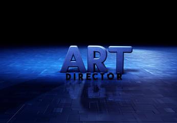 Art Director, Typography