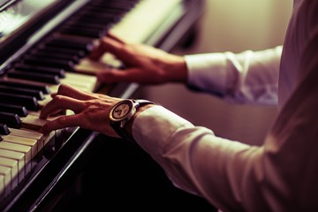 Practicing Piano Playing