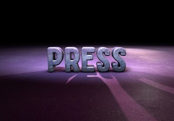 Press, Typography