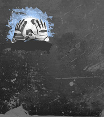 Soccer or football goal-keeper background