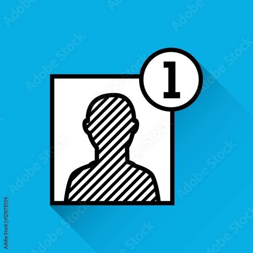 """add contact person icon vector illustration design"" Stock ..."