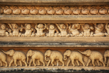 Papiers peints Edifice religieux Facade Kelaniya Temple Colombo Sri Lanka