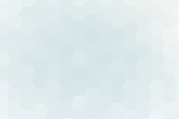hexagons on a white gold background. geometric pattern with gradient. vector
