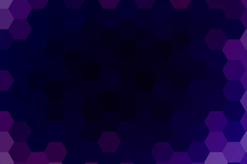 Abstract hexagons vector background. purple color geometric vector illustration