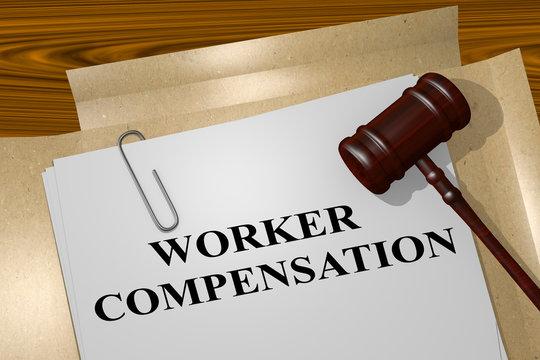 Worker Compensation - legal concept
