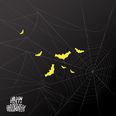 Template design of Halloween banner, poster and brochure