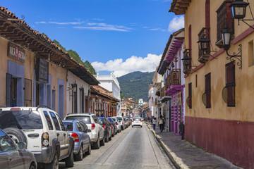 サン・クリストバル・デ・ラ・カサスの街並み