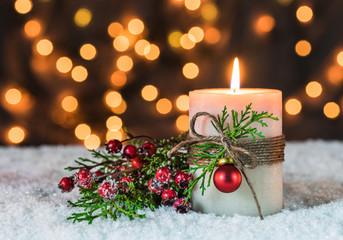 Fröhliche Weihnachten Stimmung Funkeln Hintergrund