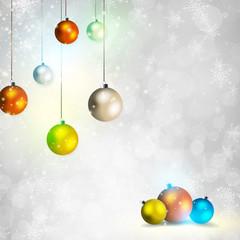 Elegant shiny Christmas background