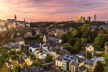 Keuken foto achterwand Chocoladebruin Cty of Luxembourg