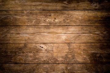 Rustic wood planks background Wall mural