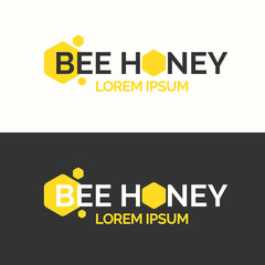 Logo of bee honey.