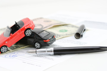 Toy cars accident damage and insurance policy contract