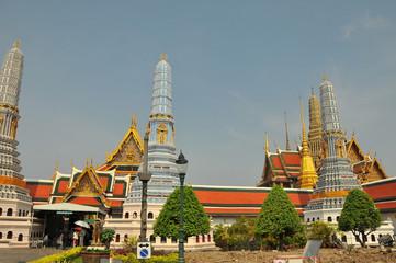 Grand palace and Wat phra keaw in Bangkok, Thailand
