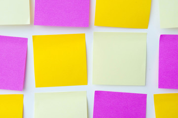 Post it note, short note, Note Take Note. In a reminder A major