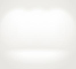 Photorealistic bright gallery. Presentation vector template